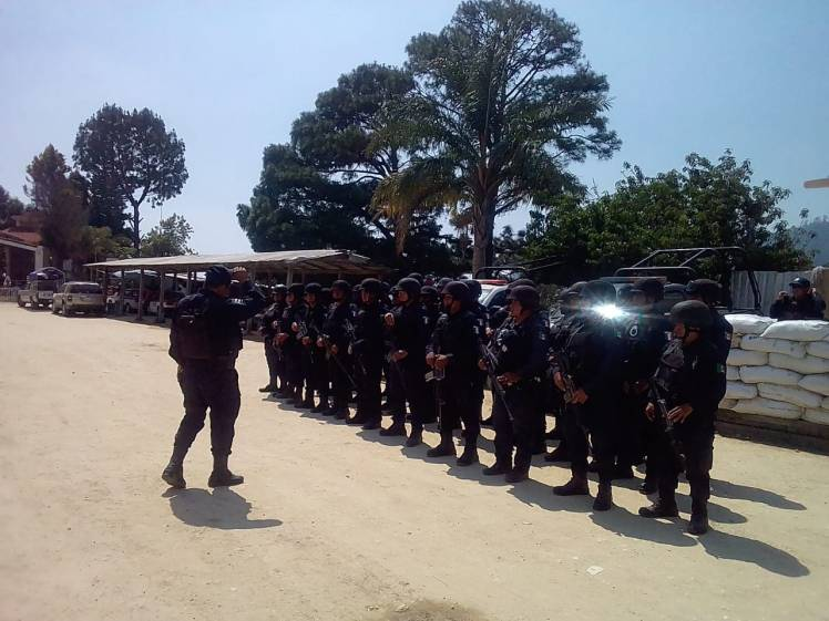 Activo Operativo de seguridad en los municipios de Santa Catarina Juquila y Santiago Yaitepec (5)
